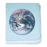 Earth - Big Blue Marble baby blanket
