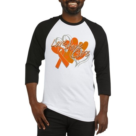 Leukemia Love Hope Cure Baseball Jersey