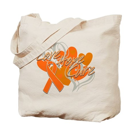 Leukemia Love Hope Cure Tote Bag
