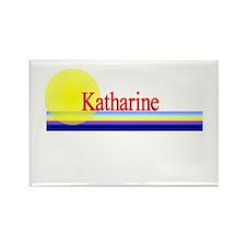 Katharine Rectangle Magnet