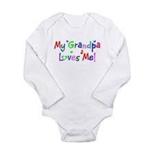 Funny Grandpas Long Sleeve Infant Bodysuit
