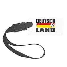 Deutschland Soccer Luggage Tag