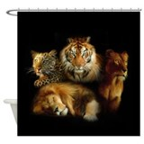 Wild Predators Shower Curtain