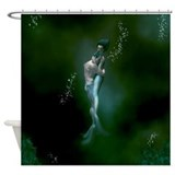 Mermaid Couple Shower Curtain