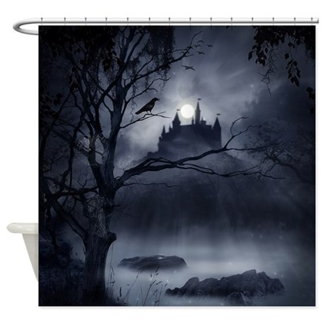 Gothic night fantasy shower curtain by showercurtainshop for Fantasy shower curtains