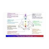 7 Chakras, Wall Decal