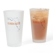 Florida Native Drinking Glass