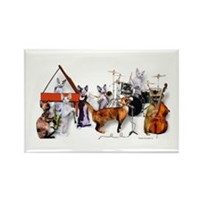 Devon Eight-piece Jazz Band Magnet