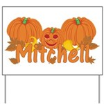 Halloween Pumpkin Mitchell Yard Sign