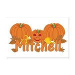 Halloween Pumpkin Mitchell Mini Poster Print