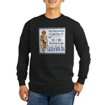 Santa Anna Tile Long Sleeve Dark T-Shirt