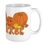 Halloween Pumpkin Parker Large Mug