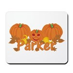 Halloween Pumpkin Parker Mousepad