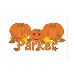 Halloween Pumpkin Parker Mini Poster Print