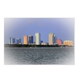 Tampa Skyline Postcards (Package of 8)
