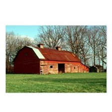 Red Barn Postcards (Package of 8)