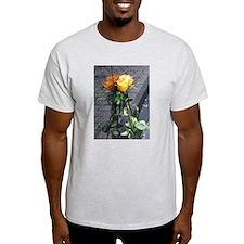 Vietnam Veterans Memorial Wall Rose T-Shirt