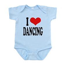 ilovedancingblk.png Infant Bodysuit