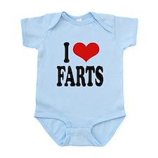 ilovefartsblk.png Infant Bodysuit