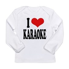 ilovekaraokeblk.png Long Sleeve Infant T-Shirt