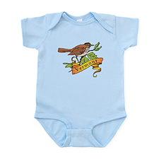 Vermont Hermit Thrasher Infant Bodysuit