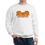 Halloween Pumpkin Randon Sweatshirt