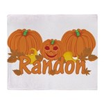 Halloween Pumpkin Randon Throw Blanket