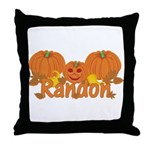 Halloween Pumpkin Randon Throw Pillow