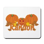 Halloween Pumpkin Randon Mousepad