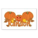 Halloween Pumpkin Randon Sticker (Rectangle)