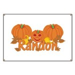 Halloween Pumpkin Randon Banner
