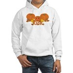 Halloween Pumpkin Rick Hooded Sweatshirt