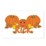Halloween Pumpkin Rick Postcards (Package of 8)