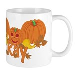 Halloween Pumpkin Ray Mug