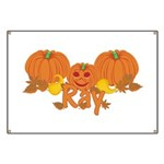 Halloween Pumpkin Ray Banner
