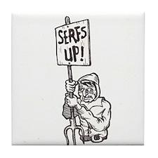 Serfs Up! Tile Coaster