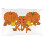 Halloween Pumpkin Roy Pillow Case