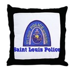 St. Louis Police Throw Pillow