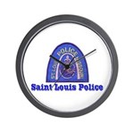 St. Louis Police Wall Clock