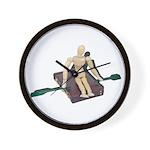 Rowing Briefcase Wall Clock