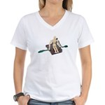 Rowing Briefcase Women's V-Neck T-Shirt