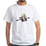 Rowing Briefcase White T-Shirt
