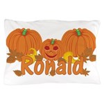Halloween Pumpkin Ronald Pillow Case