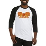 Halloween Pumpkin Ronald Baseball Jersey