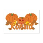 Halloween Pumpkin Ronald Mini Poster Print