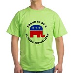 Florida Republican Pride Green T-Shirt