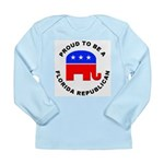 Florida Republican Pride Long Sleeve Infant T-Shir