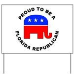 Florida Republican Pride Yard Sign