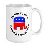 Florida Republican Pride Large Mug