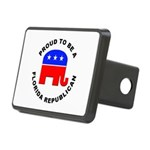 Florida Republican Pride Rectangular Hitch Cover